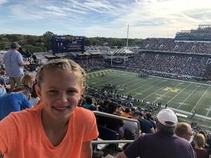 Nick attended Navy Midshipmen vs. UCF - NCAA Football on Oct 21st 2017 via VetTix