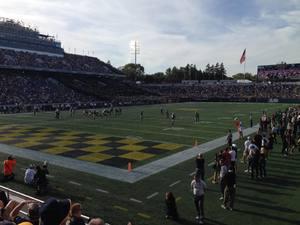 Nathan attended Navy Midshipmen vs. UCF - NCAA Football on Oct 21st 2017 via VetTix