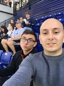 Jorge attended Navy Midshipmen vs. UCF - NCAA Football on Oct 21st 2017 via VetTix