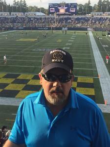 Darryl attended Navy Midshipmen vs. UCF - NCAA Football on Oct 21st 2017 via VetTix