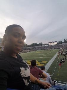 Ebonie attended Navy Midshipmen vs. UCF - NCAA Football on Oct 21st 2017 via VetTix