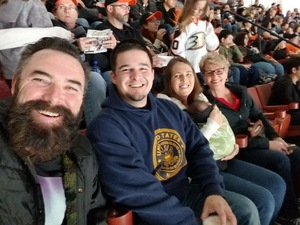 Eric attended Anaheim Ducks vs. Vegas Golden Knights - NHL on Nov 22nd 2017 via VetTix