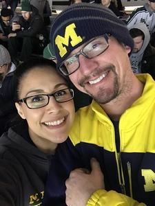 Bianca attended Michigan State vs. Michigan - NCAA Hockey on Feb 9th 2018 via VetTix