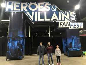 Rebecca attended Heroes and Villains Fan Fest on Apr 7th 2018 via VetTix