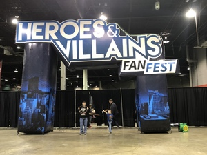 sonya attended Heroes and Villains Fan Fest on Apr 7th 2018 via VetTix