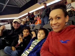 Nicole attended Kansas City Mavericks vs. Allen Americans - ECHL on Dec 10th 2017 via VetTix
