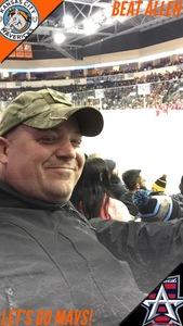 Jamie attended Kansas City Mavericks vs. Allen Americans - ECHL on Dec 10th 2017 via VetTix
