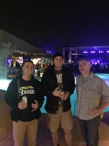 Ian attended LA Guns - Live in Concert on Jan 26th 2018 via VetTix