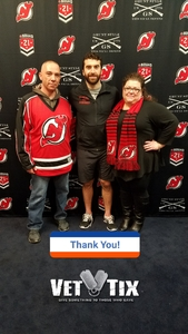 Michael attended New Jersey Devils vs. Montreal Canadians - NHL - 21 Squad Tickets With Player Meet & Greet! on Mar 6th 2018 via VetTix