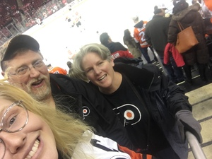 Daniel attended New Jersey Devils vs. Philadelphia Flyers - NHL on Jan 13th 2018 via VetTix