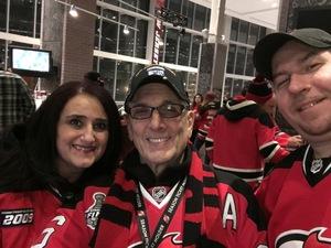 Mark attended New Jersey Devils vs. Nashville Predators - NHL on Jan 25th 2018 via VetTix
