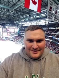 Michael attended New Jersey Devils vs. Nashville Predators - NHL on Jan 25th 2018 via VetTix
