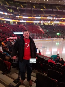 Rafal attended New Jersey Devils vs. Nashville Predators - NHL on Jan 25th 2018 via VetTix