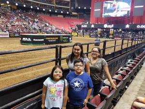 Patrick attended PBR Built Ford Tough Series vs. PBR Professional Bull Riders - Friday on Mar 23rd 2018 via VetTix