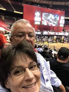 Robert attended PBR Built Ford Tough Series vs. PBR Professional Bull Riders - Friday on Mar 23rd 2018 via VetTix