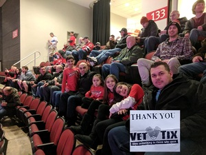 Rafal attended New Jersey Devils vs. Montreal Canadians - NHL on Mar 6th 2018 via VetTix