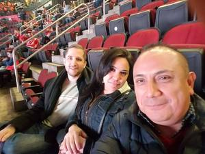 Jeremy B. attended New Jersey Devils vs. Montreal Canadians - NHL on Mar 6th 2018 via VetTix