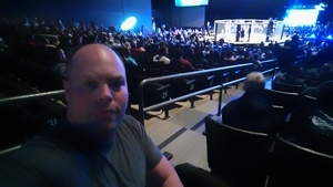 John attended Lfa 31 - Moffett vs. Le - Live Mixed Martial Arts - Presented by Legacy Fighting Alliance on Jan 19th 2018 via VetTix