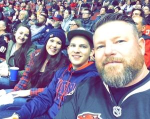 Robert attended Arizona Coyotes vs. San Jose Sharks - NHL on Jan 16th 2018 via VetTix
