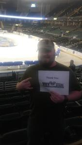 Travis attended Motorcyles on Ice - Xtreme International Ice Racing on Jan 27th 2018 via VetTix