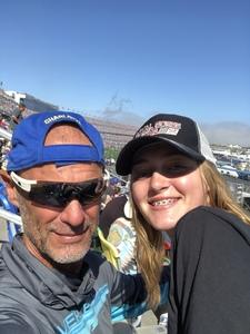 Kris attended Daytona 500 - the Great American Race - Monster Energy NASCAR Cup Series on Feb 18th 2018 via VetTix