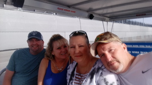 Mark attended Daytona 500 - the Great American Race - Monster Energy NASCAR Cup Series on Feb 18th 2018 via VetTix