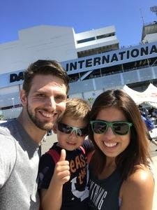 Gregg attended Daytona 500 - the Great American Race - Monster Energy NASCAR Cup Series on Feb 18th 2018 via VetTix