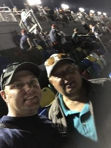 Robert attended Daytona 500 - the Great American Race - Monster Energy NASCAR Cup Series on Feb 18th 2018 via VetTix