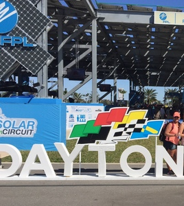 Jayme attended Daytona 500 - the Great American Race - Monster Energy NASCAR Cup Series on Feb 18th 2018 via VetTix