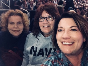 Cindy attended Brad Paisley - Weekend Warrior World Tour With Dustin Lynch, Chase Bryant and Lindsay Ell on Jan 27th 2018 via VetTix