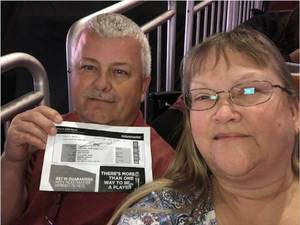 Michael attended Brad Paisley - Weekend Warrior World Tour With Dustin Lynch, Chase Bryant and Lindsay Ell on Jan 27th 2018 via VetTix