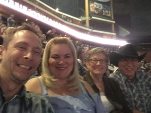 russ attended Brad Paisley - Weekend Warrior World Tour With Dustin Lynch, Chase Bryant and Lindsay Ell on Jan 27th 2018 via VetTix