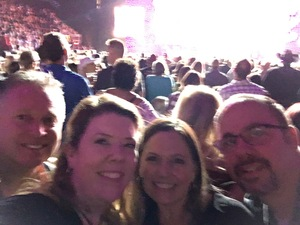 Jeffery attended Brad Paisley - Weekend Warrior World Tour With Dustin Lynch, Chase Bryant and Lindsay Ell on Jan 27th 2018 via VetTix