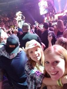 Justin attended Brad Paisley - Weekend Warrior World Tour With Dustin Lynch, Chase Bryant and Lindsay Ell on Jan 27th 2018 via VetTix