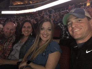 Jalen attended Brad Paisley - Weekend Warrior World Tour With Dustin Lynch, Chase Bryant and Lindsay Ell on Jan 27th 2018 via VetTix
