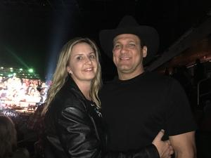 Dawn Marie attended Brad Paisley - Weekend Warrior World Tour With Dustin Lynch, Chase Bryant and Lindsay Ell on Jan 27th 2018 via VetTix