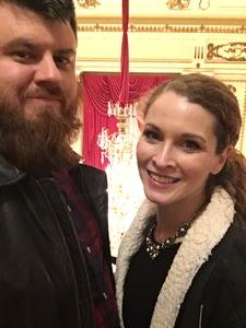 Jonathan attended Carmina Burana - Presented by the Saint Louis Symphony Orchestra on Feb 9th 2018 via VetTix