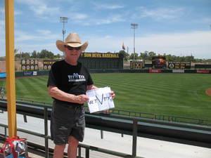 Allan J attended Arizona State Sun Devils vs. Washington - NCAA Men's Baseball - Sunday on May 6th 2018 via VetTix