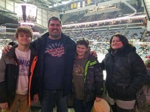 Adam attended Fort Wayne Komets vs. Rapid City Rush - ECHL on Feb 2nd 2018 via VetTix