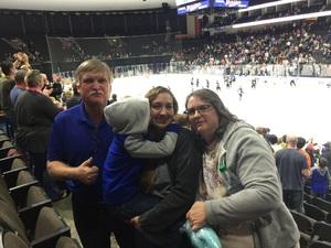 Richard attended Jacksonville Icemen vs. Atlanta Gladiators - ECHL on Feb 10th 2018 via VetTix
