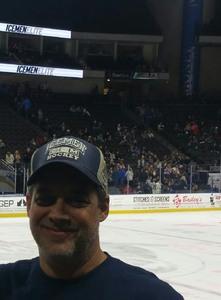 Frank attended Jacksonville Icemen vs. Atlanta Gladiators - ECHL on Feb 10th 2018 via VetTix