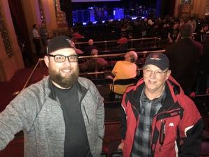Charles attended G3: Joe Satriani, John Petrucci (dream Theater), Phil Collen (def Leppard) on Feb 12th 2018 via VetTix