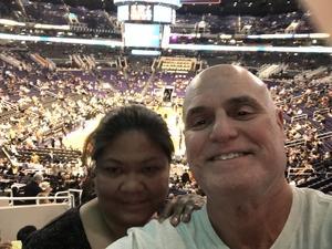Tibor attended Phoenix Suns vs. San Antonio Spurs - NBA on Feb 7th 2018 via VetTix