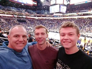 Mikel attended Phoenix Suns vs. San Antonio Spurs - NBA on Feb 7th 2018 via VetTix