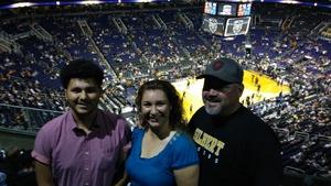 Jacqueline attended Phoenix Suns vs. Denver Nuggets - NBA on Feb 10th 2018 via VetTix
