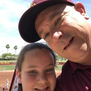 Anthony attended Honor Row - Arizona State Lady Devils vs. Stanford - NCAA Women's Softball on May 6th 2018 via VetTix