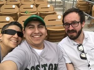 RAMIRO CALDERON attended Chicago White Sox vs. Cincinnati Reds - MLB Spring Training on Mar 7th 2018 via VetTix