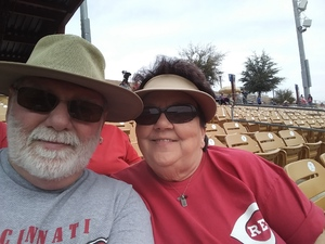 Kelly attended Chicago White Sox vs. Cincinnati Reds - MLB Spring Training on Mar 7th 2018 via VetTix