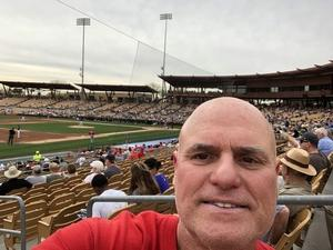 Tibor attended Chicago White Sox vs. Cincinnati Reds - MLB Spring Training on Mar 7th 2018 via VetTix