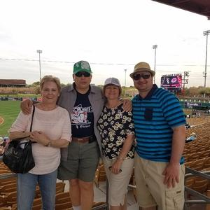 Larry attended Chicago White Sox vs. Cincinnati Reds - MLB Spring Training on Mar 7th 2018 via VetTix